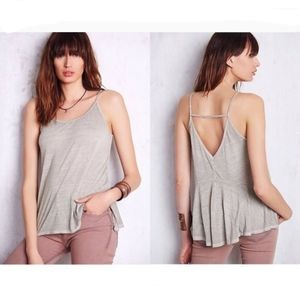 We The Free Sunshine strappy tank gray